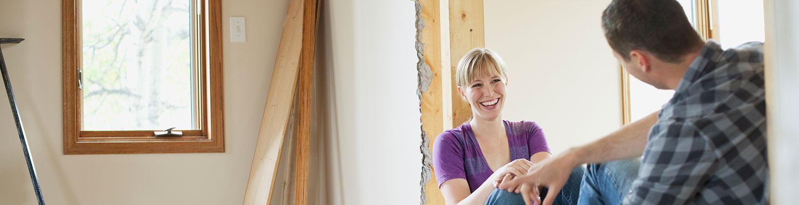 Ausbauhaus: Eigenleistung senken die Kosten