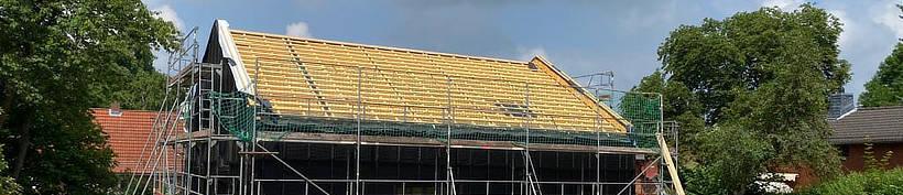 Konstruktiver Holzschutz beim Aufbau eines Holzhauses