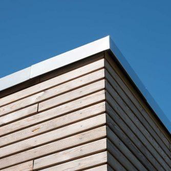 Natürliche Holzfassaden